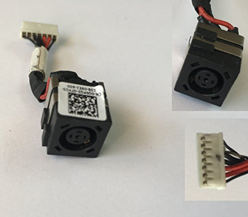 DC-IN Jack for Dell Latitude E6320 G9PG3 DC30100D600, Power Jack Harness Port Connector Socket with Wire Cable by Kam Kin (Image #3)'