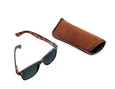 Troika Sun Reader de Lectura Gafas de Sol con 3 dioptrías – sun30/BR – Marrón – bifocales lesesonn Gafas, Grosor + 3,0 DPT, certificación TÜV, ...