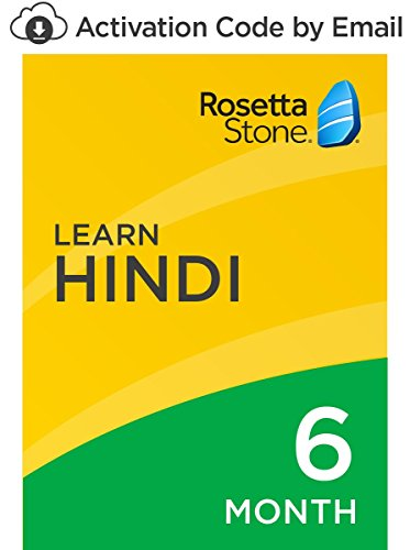 Rosetta Stone: Learn Hindi for 6 months on iOS, Android, PC, and Mac [Activation Code by Email] by Rosetta Stone