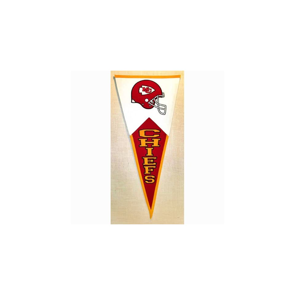 BSS   Kansas City Chiefs NFL Classic Pennant (17.5x40.5)