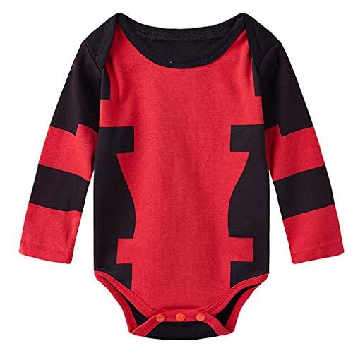 (Nafanio Baby Bodysuit Infant Jumpsuit Halloween)