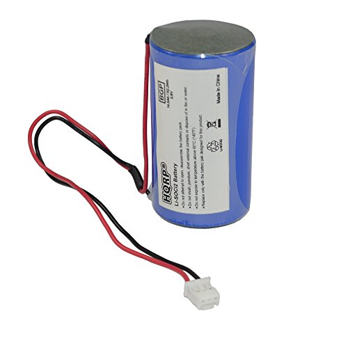 HQRP D-Size 3.6V Lithium Thionyl Chloride Battery for DSC ER34615M-T1 WT4911 WT4911B WT8911 ALEXOR Wireless Outdoor Siren WT4911BATT ADT
