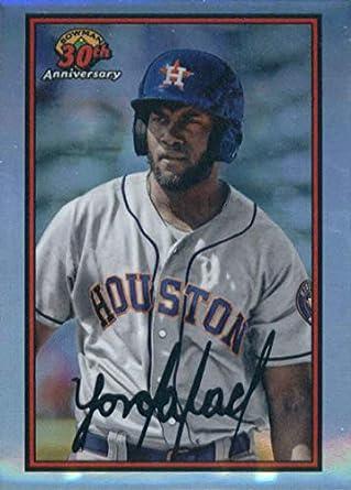 2019 Bowman 30th Anniversary B30 Ya Yordan Alvarez Houston Astros Baseball Card