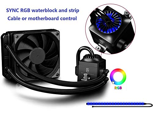 DEEPCOOL Gamer Storm Captain 120EX RGB CPU Liquid Cooler for sale  Delivered anywhere in Canada