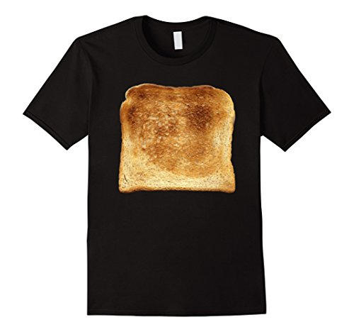 Halloween Costume Ideas Under 20 (Mens Bread & Toast T-Shirt Halloween Costume Ideas Medium Black)
