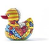 2015 Ltd ROMERO BRITTO /'Happy Ed Pop Sculpture Figure *NEW* Duck/' A New Day