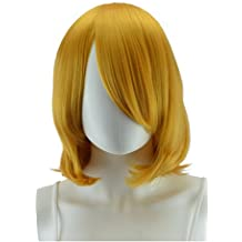 Epic Cosplay Aura Autumn Gold Straight Short Wig 16 Inches (06AG)