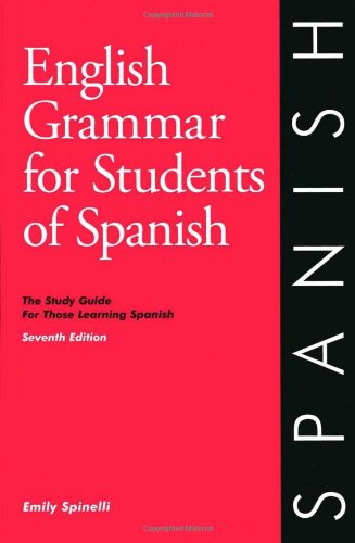How to find the best english grammar for students of spanish for 2019?