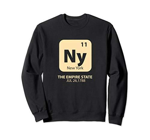 Element Boys Sweatshirt - New York Empire State Chemistry Element Nerd Sweatshirt