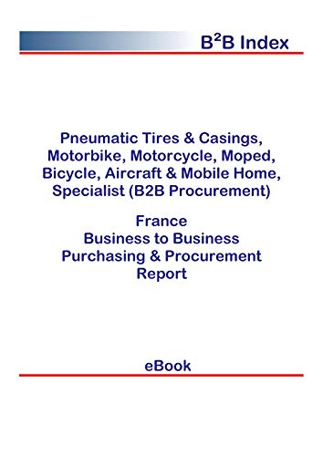 Pneumatic Tires & Casings, Motorbike, Motorcycle, Moped, Bicycle, Aircraft & Mobile Home, Specialist (B2B Procurement) in France: B2B Purchasing + Procurement Values