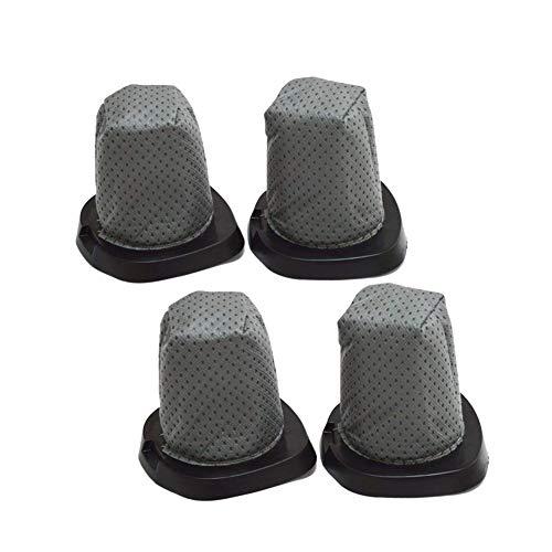 (EZ SPARES 4PCS Dirt Devil 083405 Series Swift Stick Vacuum Style F25 F-25 Dust Cup Allergen Filter Hepa Attachment Kit Replace Part #'s 2SV1102000 & 3SV0980000)