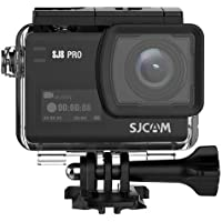 SJCAM SJ8 Pro Real 4k 60fps Water Resistant Action Camera,OLED Large Ultra Full HD Touchscreen,EIS Stabilized,Dual Screen,Raw Image,1200mAh High Capacity Battery 5G WiFi (E-Commerce Packaging)