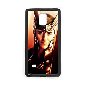 QSWHXN Customized Thor Loki Hard Cover Case For Samsung Galaxy Note 4