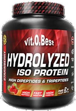 Vit-O-Best Hydrolyzed Iso Proteínas, Sabor a Limón - 907 gr ...