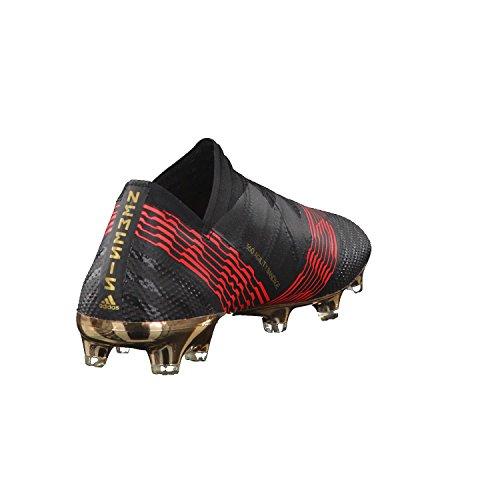 adidas Nemeziz 17+ FG, Scarpe da Calcio Uomo Nero (Cblack/Solred)