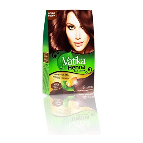 Dabur Vatika Natural Dark Brown Henna Hair
