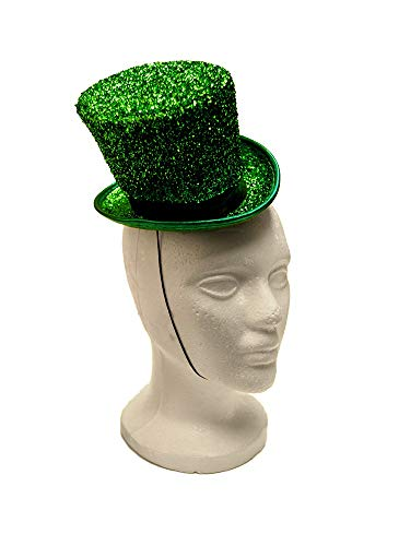 Arsimus Mardi Gras St. Patrick's Day Leprechaun Mini Party Hat (Green)