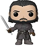 Funko POP! TV: Game of Thrones Jon Snow (Beyond The Wall) Collectible Figure, Multicolor