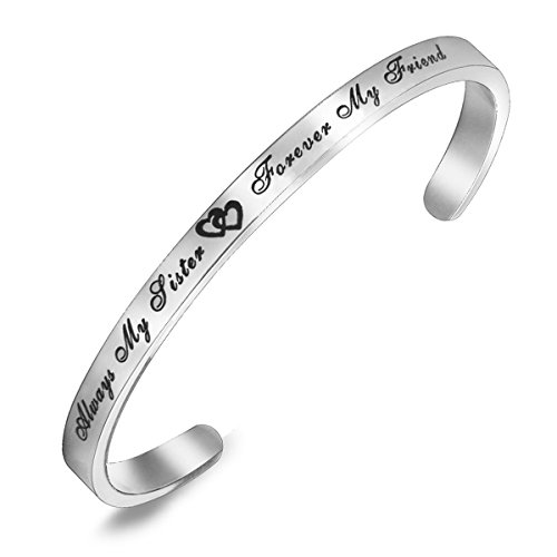 Women Fashion Accessories Stainless Steel Infinity Bangle Bracelet - 8