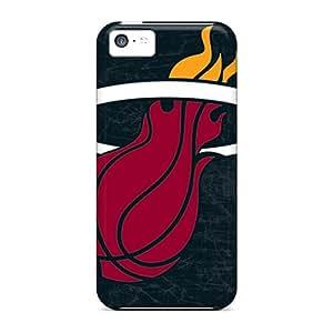 Nice-cheap-cases Iphone 5c Protector Hard Phone Cases Provide Private Custom Colorful Miami Heat Skin [nVi3439ltAT]