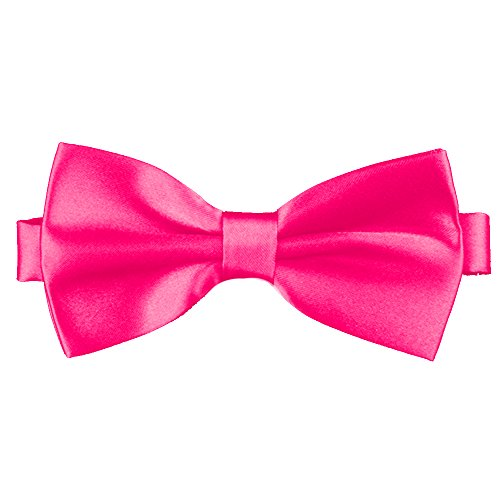 (Flairs New York Little Gentleman's Kids Bow Tie (Fuchsia)