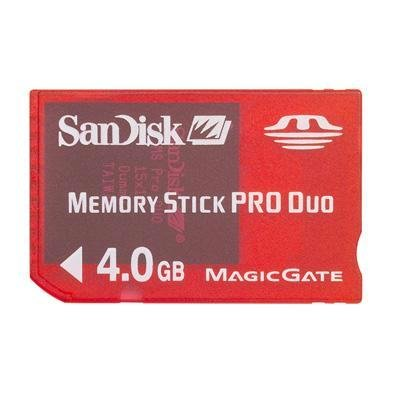 SanDisk SDMSG-4096-A11 4GB Memory Stick PRO Duo for PSP Gaming by SanDisk