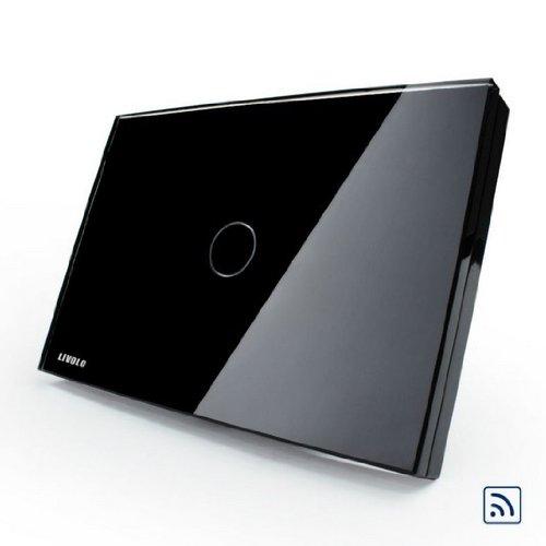LIVOLO Black US/AU Standard Wireless Remote Control Home Wal