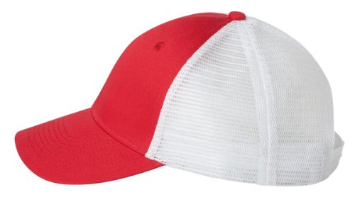 valucap-vc400-twill-trucker-cap-red-white-adjustable