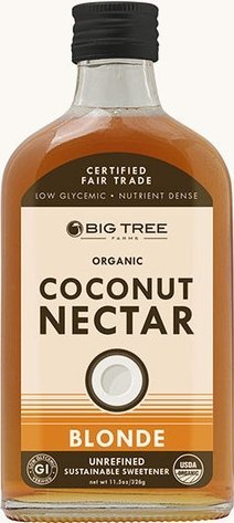 Tree Big Coconut Farms (Big Tree Farms Unrefined Coconut Nectar (Blonde) - Pack of 2)