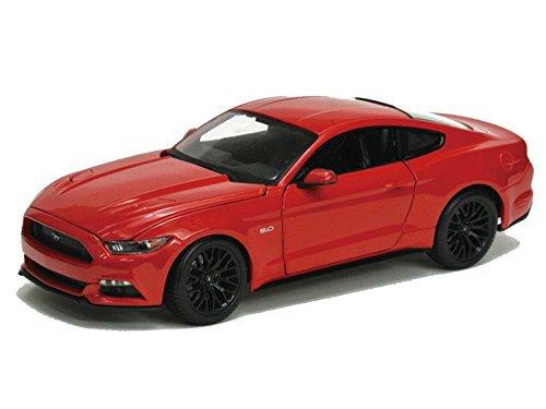 1/18 スペシャルエディション 2015 フォード マスタング (レッド) 200-128