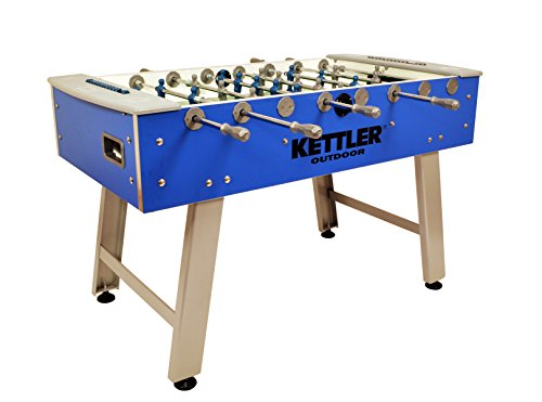 Indoor Foosball Table - Kettler Weatherproof Indoor/Outdoor Foosball/Soccer Game Table