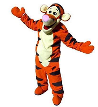 tigger mascot costumes 100 real picture adults christmas halloween outfit fancy dress suit small