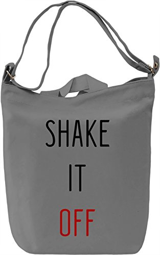 Shake It Borsa Giornaliera Canvas Canvas Day Bag| 100% Premium Cotton Canvas| DTG Printing|
