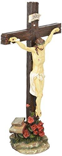 INRI Crucifijo Jesús Estatua Figura religiosa cristiana católica arte d18192