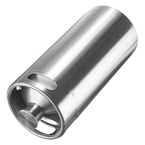 【お気にいる】 3.6L ステンレススチール製ミニ樽 Growler Brew ホーム Brew B075CW7NWG 3.6L スタイル醸造ボトル B075CW7NWG, 介護用品販売センター:f97402d6 --- a0267596.xsph.ru