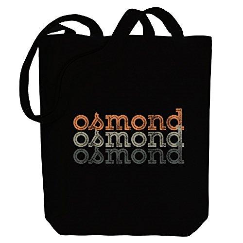 Canvas repeat repeat Bag Tote Osmond retro Osmond Male Idakoos Idakoos Names Iqg8d77wx