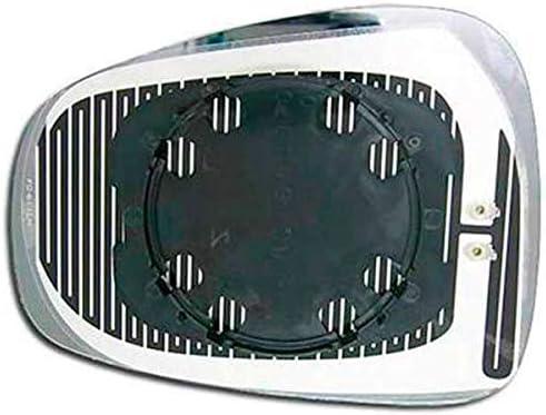 Piastra Specchio Retrovisore Destra Vetro Azzurro Elettrico 18403