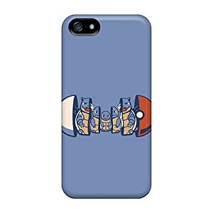 New Style JamesDLaughlin Hard Case Cover For Iphone 5/5s- Squirtle Evolution