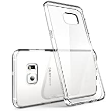 Galaxy s6 Edge Case, iVoler Ultra [Slim Thin] Scratch Resistant TPU Rubber Soft Skin Silicone Protective Case Cover for Samsung Galaxy s6 Edge Case[Crystal Clear]