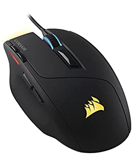 Corsair Gaming Sabre RGB Gaming Mouse, Light Weight, 10000 DPI, Optical, Multi Color (B01APA8D2G) | Amazon price tracker / tracking, Amazon price history charts, Amazon price watches, Amazon price drop alerts