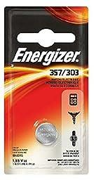 Energizer Watch Battery 1.55 Volt 357/303 1 Each (Pack of 11)