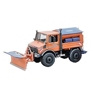 bruder MB-Unimog Winterdienst mit Räumschild Spielzeugautos Modellfahrzeug