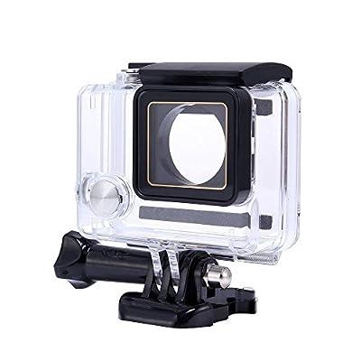 Waterproof Case for Gopro, Calas Replacement Waterproof Protective Dive Housing Case for GoPro Hero 4 3+ 3 Camera - Underwater 40 Meters by Calas