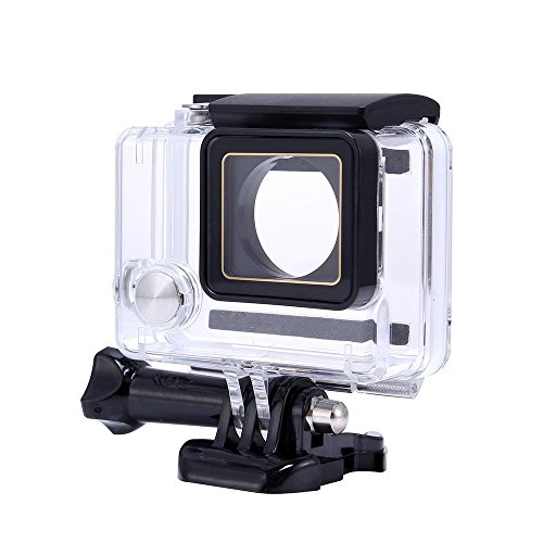 Waterproof Case for Gopro, Calas Replacement Waterproof Protective Dive Housing Case for GoPro Hero 4 3+ 3 Camera - Underwater 40 Meters by Calas
