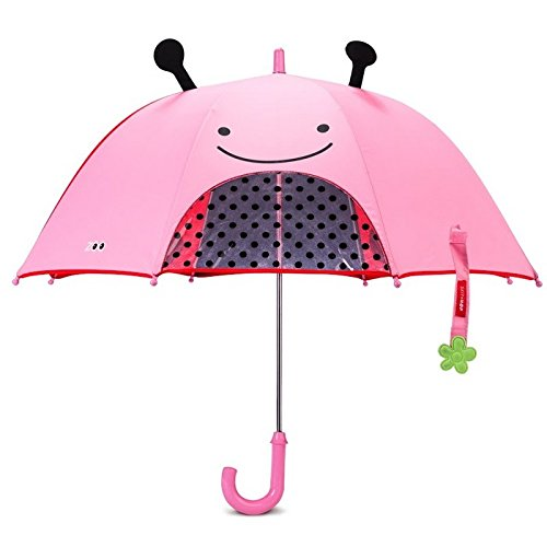 Stroller Green Bubbles - Skip Hop Zoo Little Kid and Toddler Umbrella, Multi Livie Ladybug