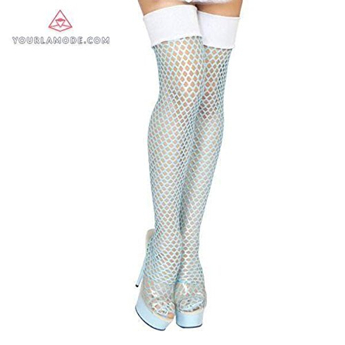 Roma Costume Fishnet Stockings Bundle with Pink (2016 Edc Costumes)