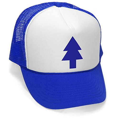 Dipper's Pine - Foam and Mesh Trucker Hat, Blue, One Size