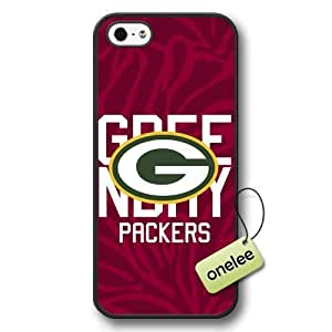 NFL Green Bay Packers Team Logo Case For Samsung Galaxy S5 Cover Black Hard Plastic Case CovBlack 1