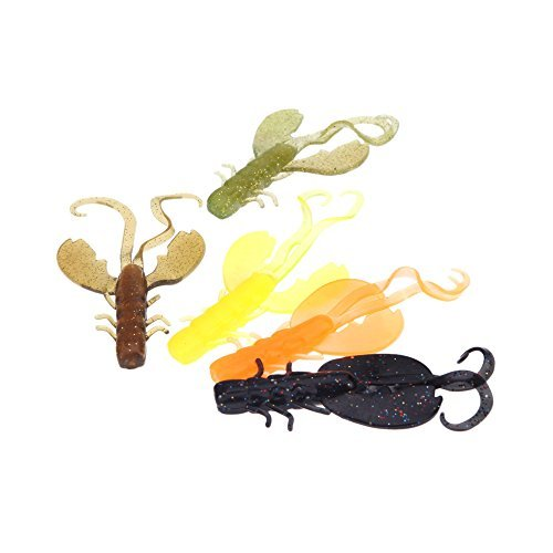5Pcs 11cm/10g Artificial Colorful Shrimp Fishing Lure Bionic Big Ghost Lobster Soft Baits Fishing Tackle Lifelike Fishy Smell
