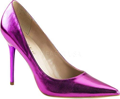 Du Couvert Orchid Avant Talons 20 Pu Femmes Chaussures Metallic À Pieds Pleaser Classique cXqw8vRYY